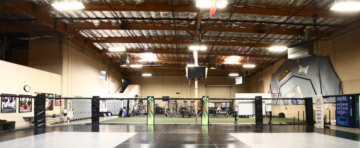 Huge Fitness Training Mat Area with Punching Bags and World Class Amenities in Las Vegas Hero Image in undefined, Las Vegas, NV