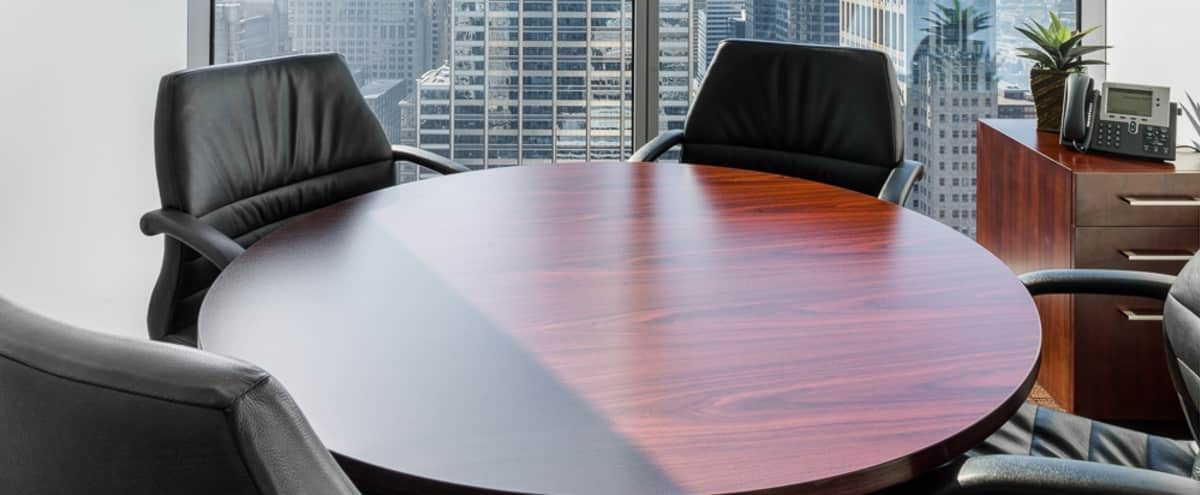 Premium and Private Small Conference Room with Spectacular Skyline Views in Chicago Hero Image in The Loop, Chicago, IL