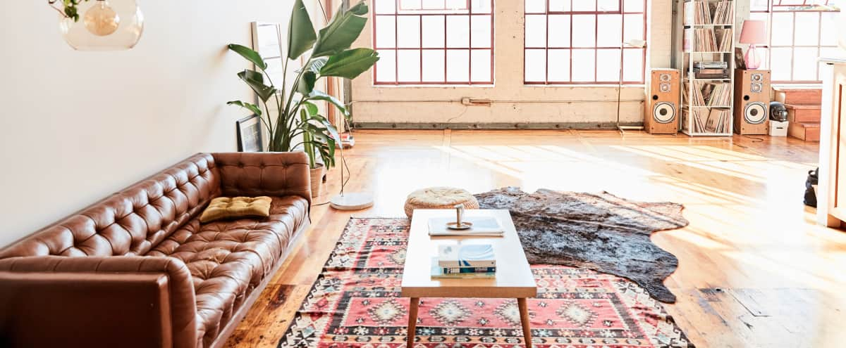 Natural Light Lifestyle Production Loft in Oakland Hero Image in East Peralta, Oakland, CA