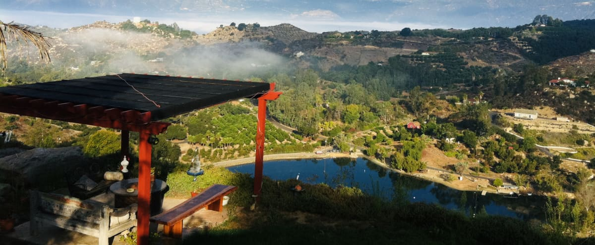 Gorgeous 4.5 Acre Mountain Side Property Overlooking Lake   Stunning area for Film/Photo Shoots in Fallbrook Hero Image in undefined, Fallbrook, CA