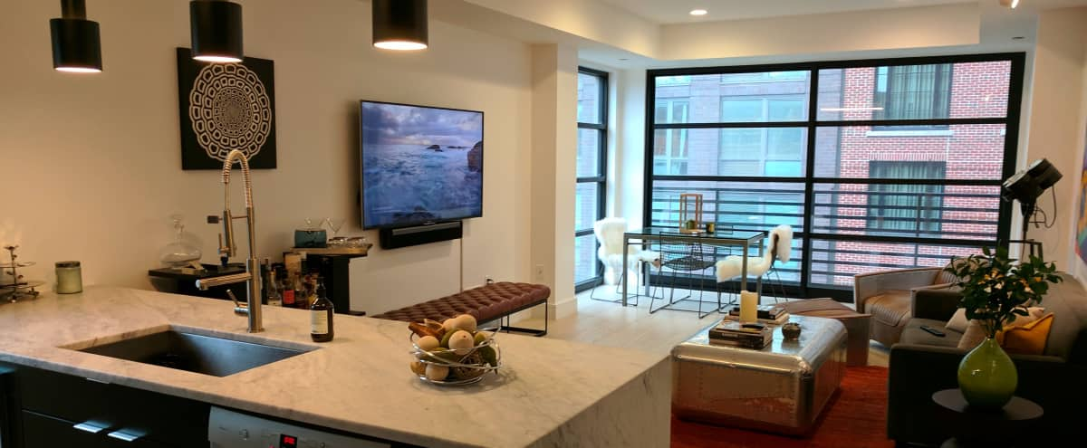 Downtown Lower Eastside Loft with Floor to Ceiling Windows in New York Hero Image in Lower Manhattan, New York, NY
