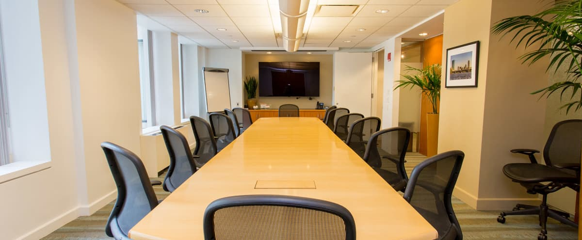 Boardroom in Downtown Financial District - The State in Boston Hero Image in Downtown, Boston, MA