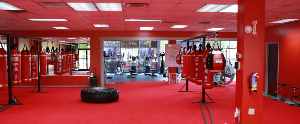 Beautiful Red Gym with Spacious Area in Memphis Hero Image in undefined, Memphis, TN