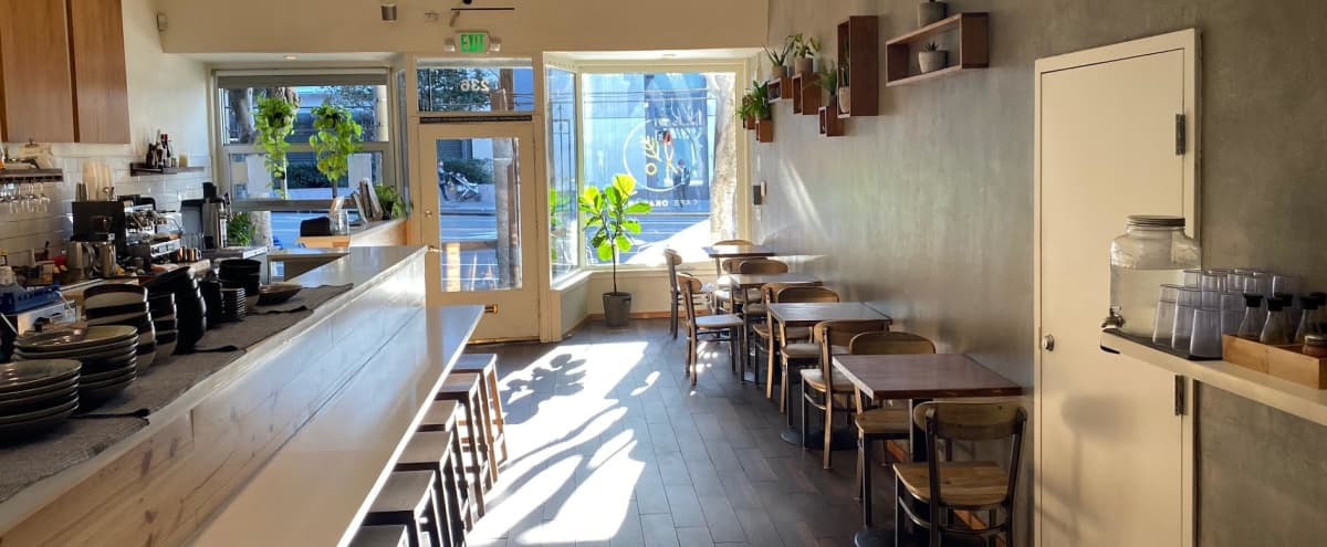 Downtown Rustic Japanese Inspired Cafe in San Francisco Hero Image in China Basin, San Francisco, CA
