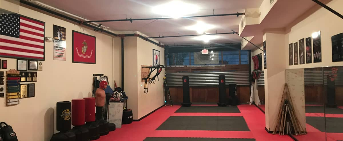 Stunning Open Martial Arts Fitness Studio