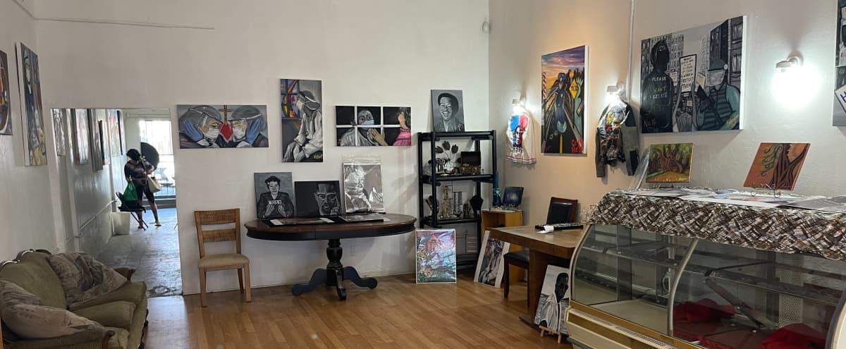Mid City West Adams Gallery/Studio High Ceilings in Los Angeles Hero Image in Jefferson Park, Los Angeles, CA