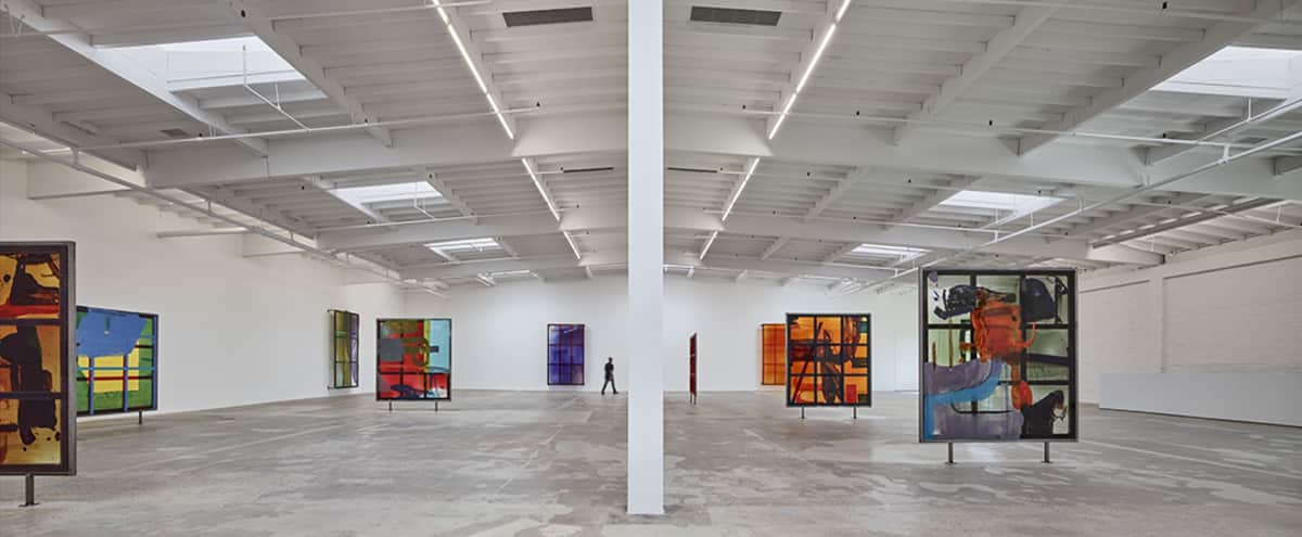 Large industrial downtown gallery space
