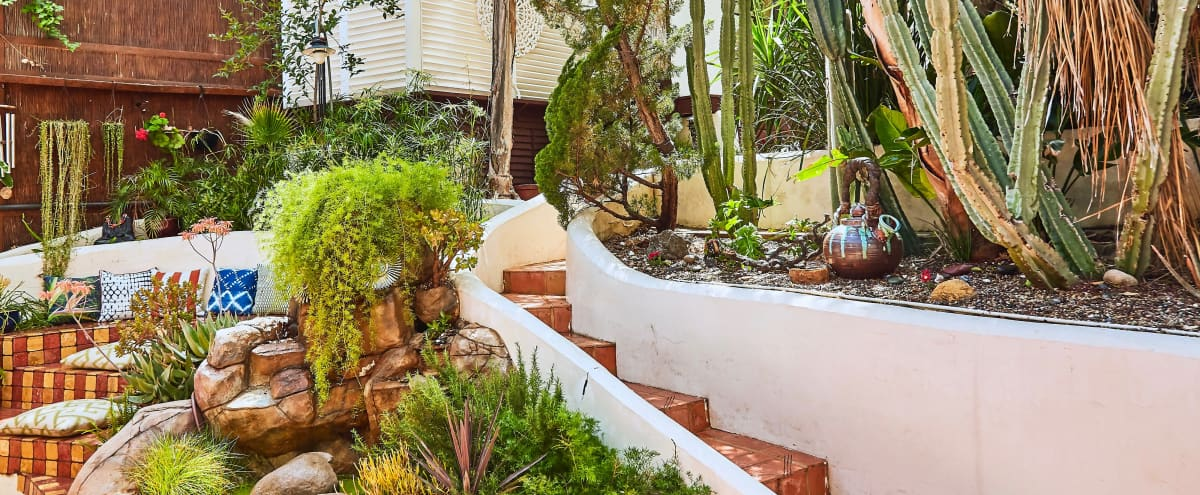 Colorful Spanish Bohemian Greenhouse with Pool, Music Studio, & Art Space in Woodland Hills Hero Image in Woodland Hills, Woodland Hills, CA