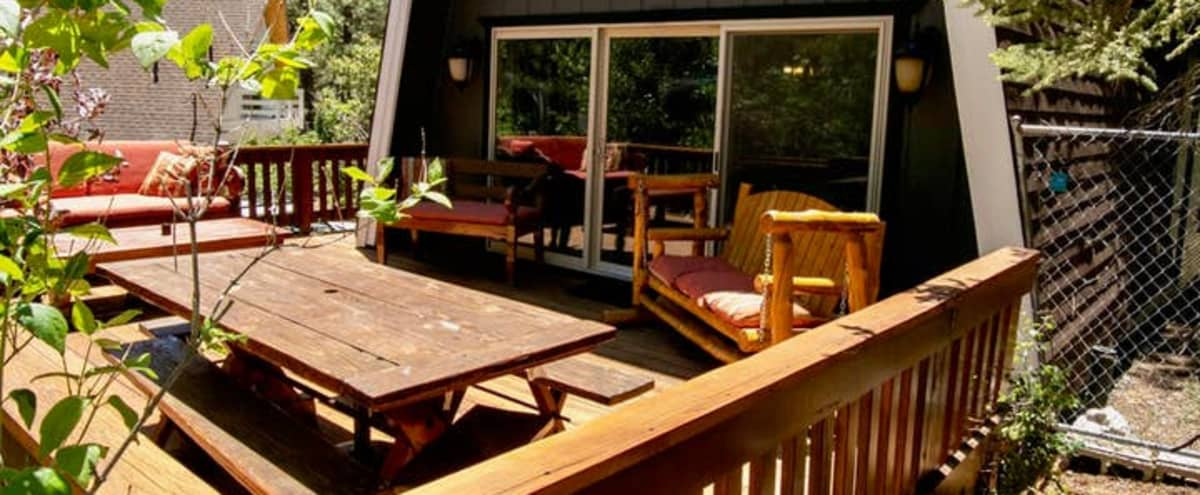 Gorgeous Mountain Cabin with games, hottub and theater room! in Big Bear Lake Hero Image in undefined, Big Bear Lake, CA