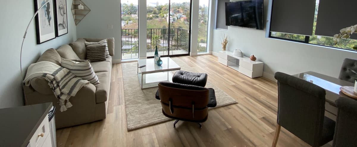 Hilltop Home with Jetliner Views and Rooftop Deck. in Los Angeles Hero Image in Echo Park, Los Angeles, CA