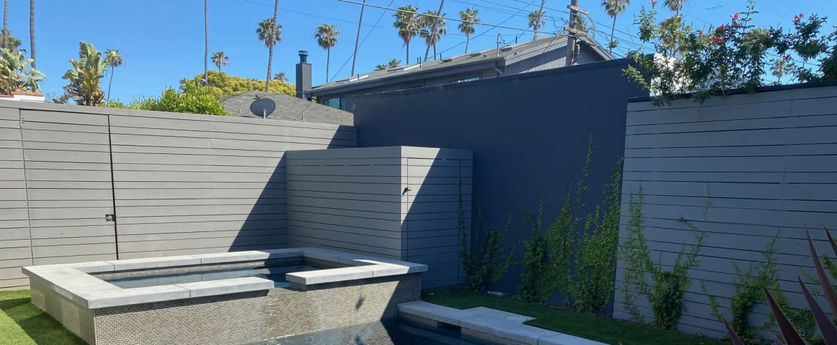 Modern Venice Patio and Backyard with Pool in Venice Hero Image in Venice, Venice, CA