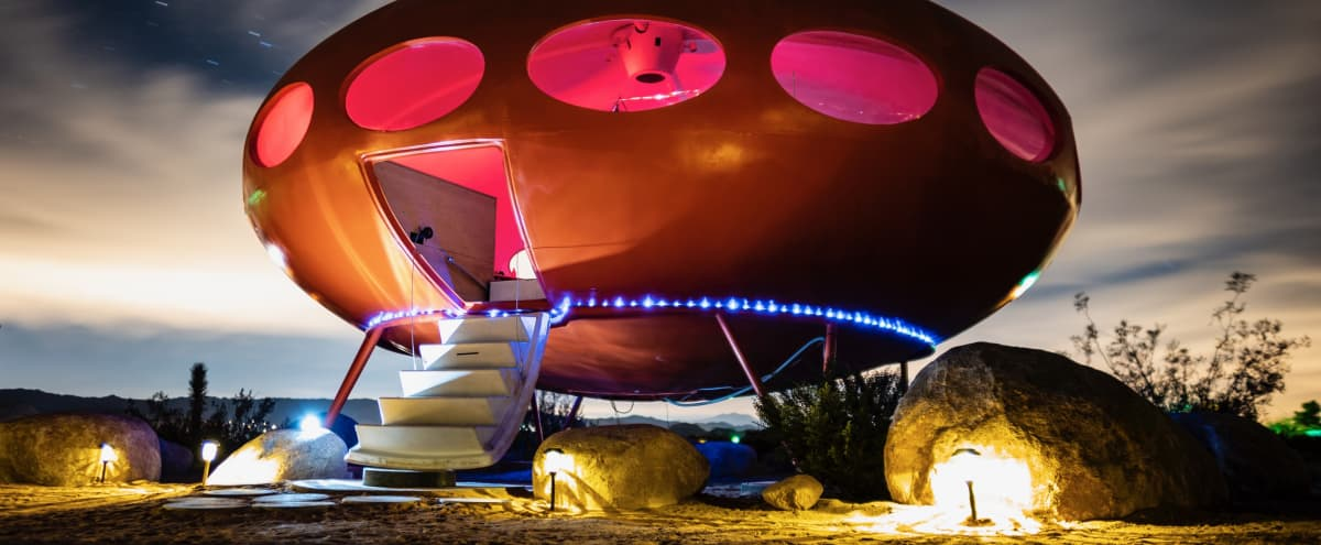 Futuro House-Area 55 in Joshua Tree Hero Image in undefined, Joshua Tree, CA