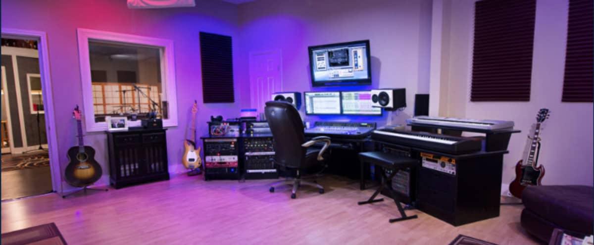 Professional Recording Studio in Houston Hero Image in Spring Branch West, Houston, TX