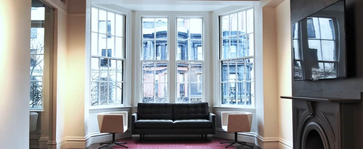 Flexible Event Space w/ Great Natural Light & Hardwood Floors in Boston Hero Image in Back Bay, Boston, MA