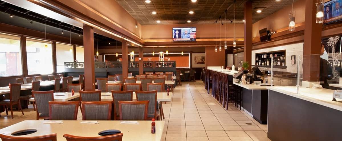 4000sf, Spacious Modern Restaurant with AV/HVAC in Milpitas Hero Image in undefined, Milpitas, CA
