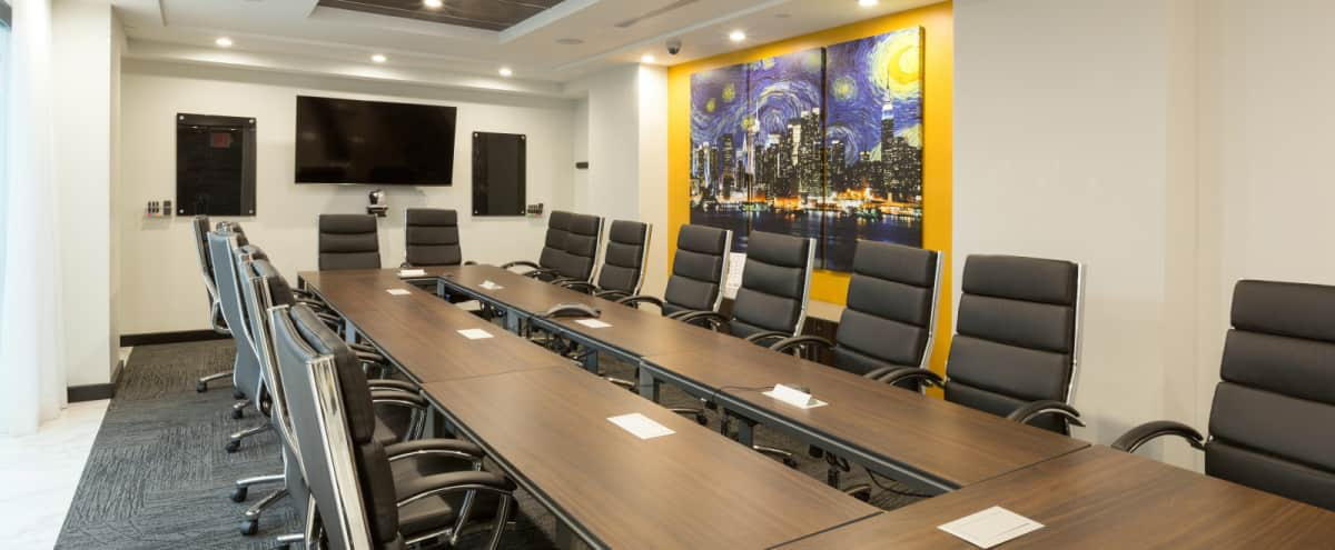 Large Meeting Room with Videoconferencing on 3rd Floor near Grand Central - GC in New York Hero Image in Midtown, New York, NY