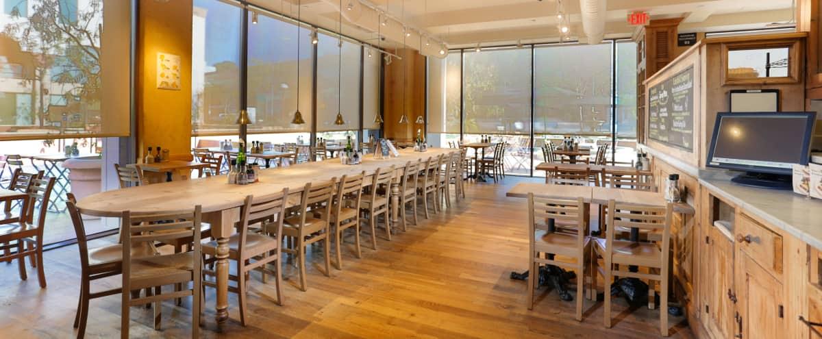 Rustic Cafe With Large Outdoor Patio - Great shoot location! in Encino Hero Image in Encino, Encino, CA