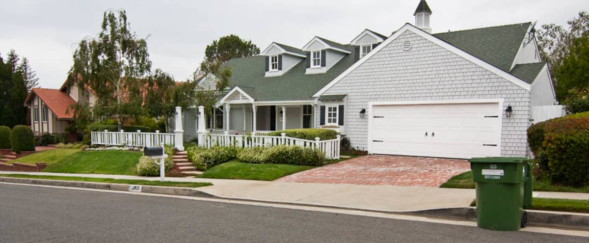 Cape Cod Home with Beautiful Landscape in Porter Ranch Hero Image in Porter Ranch, Porter Ranch, CA