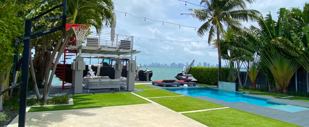 Modern Waterfront Home With Incredible Views in North Bay Village Hero Image in undefined, North Bay Village, FL