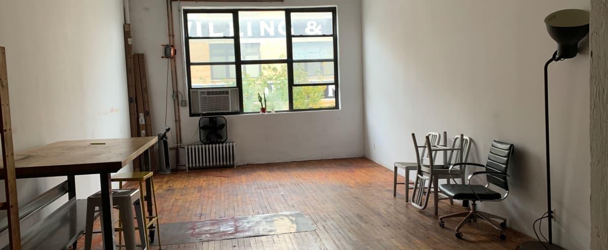 Beautiful, Spacious Bushwick Studio in Brooklyn Hero Image in East Williamsburg, Brooklyn, NY