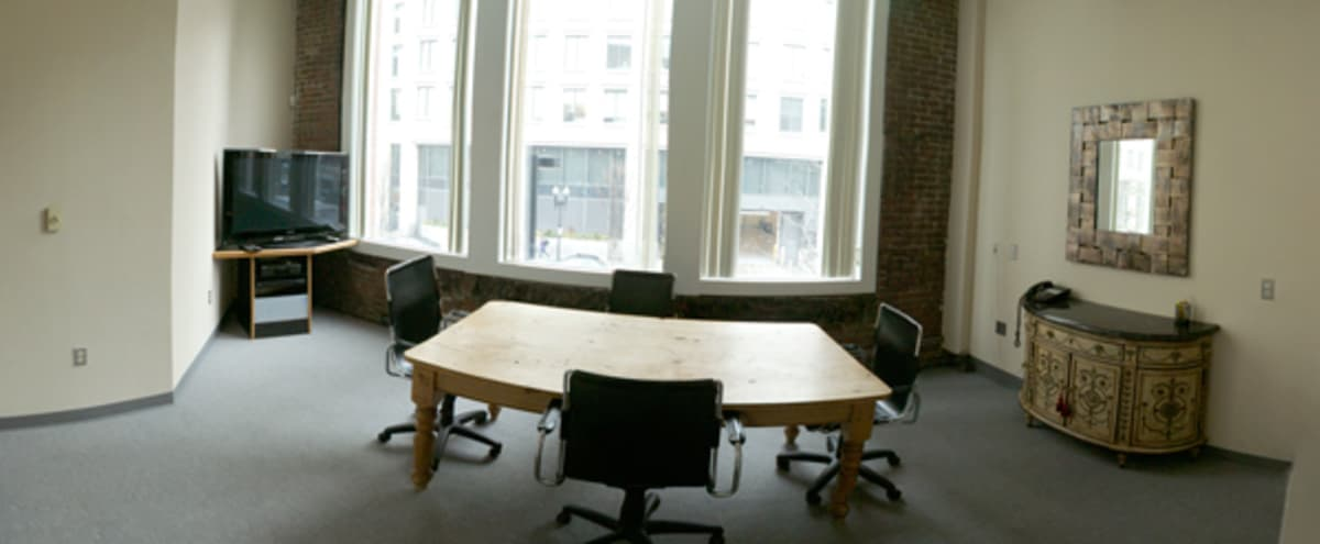 Lovely Conference Room with Beautiful Natural Light in Boston Hero Image in Bay Village, Boston, MA