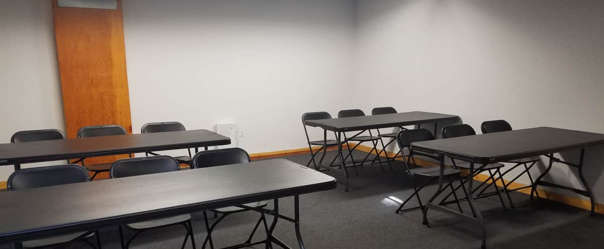 Classroom, Boardroom, or Seminar Suite for up to 40 with Plenty of Free Parking - Near Long Beach Airport in Long Beach Hero Image in Lakewood Village, Long Beach, CA