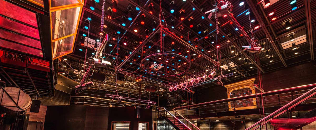 Downtown Event Venue with Industrial Theme in Indianapolis Hero Image in Mile Square, Indianapolis, IN