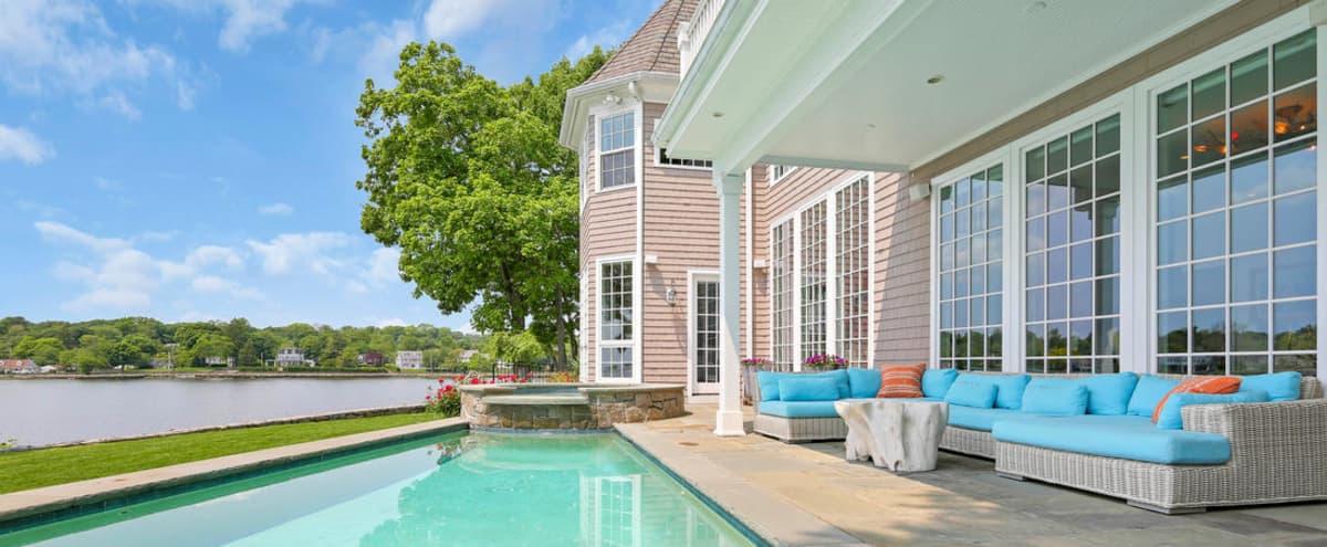 Ocean front PEARL HOUSE with pool near NYC in darien Hero Image in undefined, darien, CT