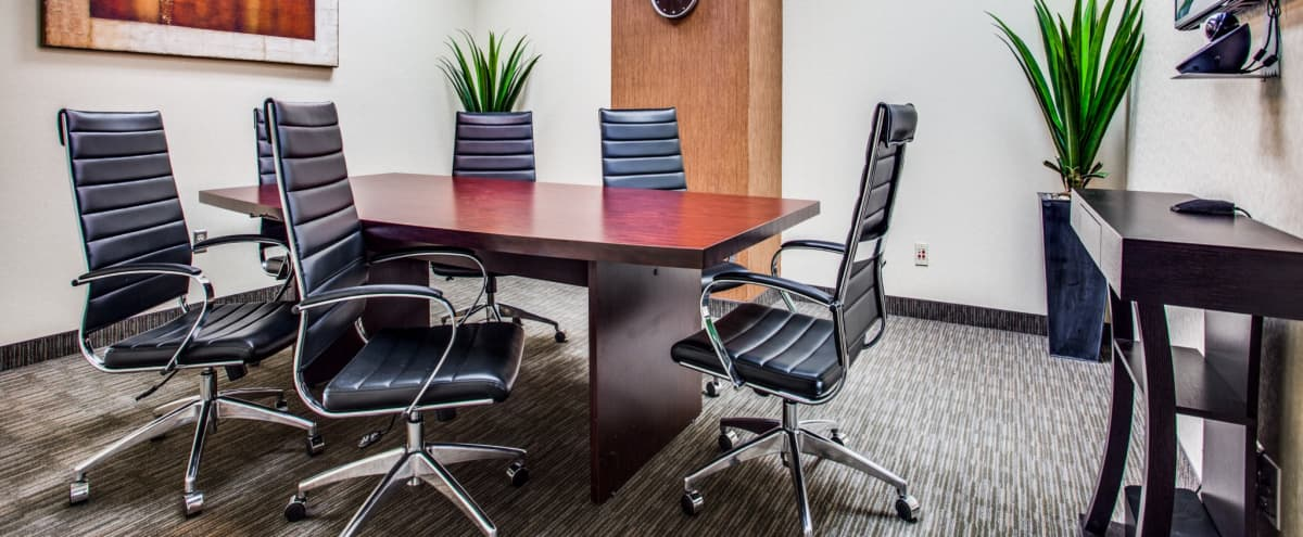 Comfortable Meeting Space for Six | Central Plano in Plano Hero Image in undefined, Plano, TX