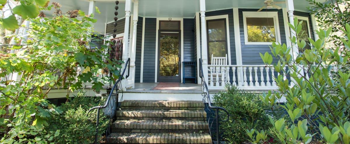 Two-story 1910 Queen Anne House on a Very Quiet Street in Atlanta Hero Image in Kirkwood, Atlanta, GA