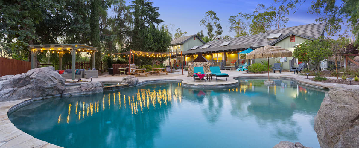 Modern Farmhouse on 4.5 shady acres near Temecula Wine Country with pool and spa in Winchester Hero Image in undefined, Winchester, CA