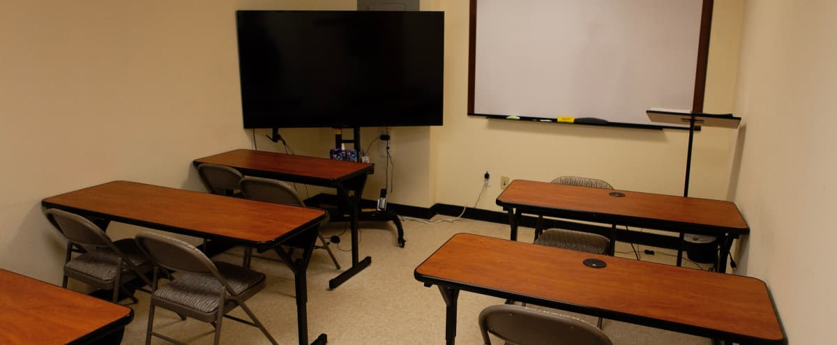 classroom, conference room, free wifi in Bayside Hero Image in Auburndale, Bayside, NY