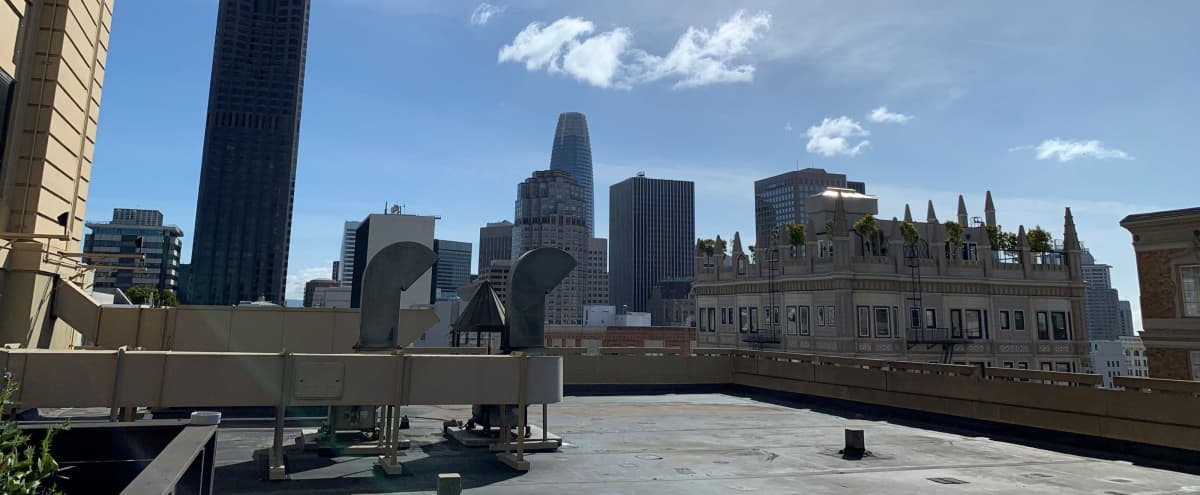 Rooftop for Filming in San Francisco Hero Image in Nob Hill, San Francisco, CA