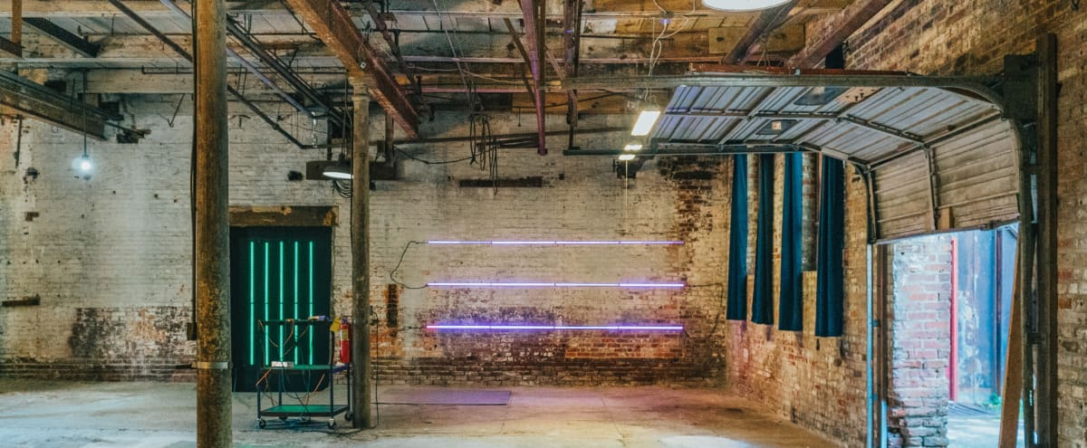 Industrial Warehouse for Photo & Film in Atlanta Hero Image in Blandtown, Atlanta, GA