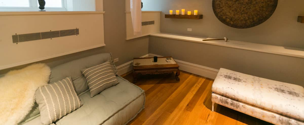 Noho Brownstone with Rear Garden  + Meditation/Screening Space in New York Hero Image in Lower Manhattan, New York, NY