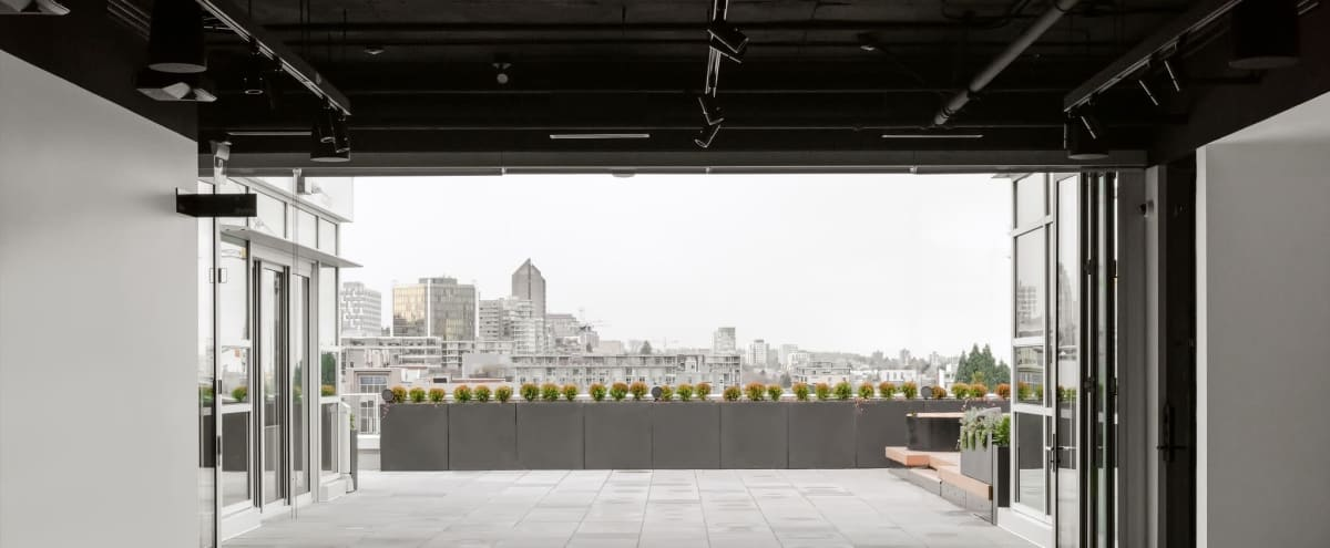 Film/Photo Location: Gallery Event Space with Rooftop in Vancouver BC Hero Image in East Vancouver, Vancouver BC, BC