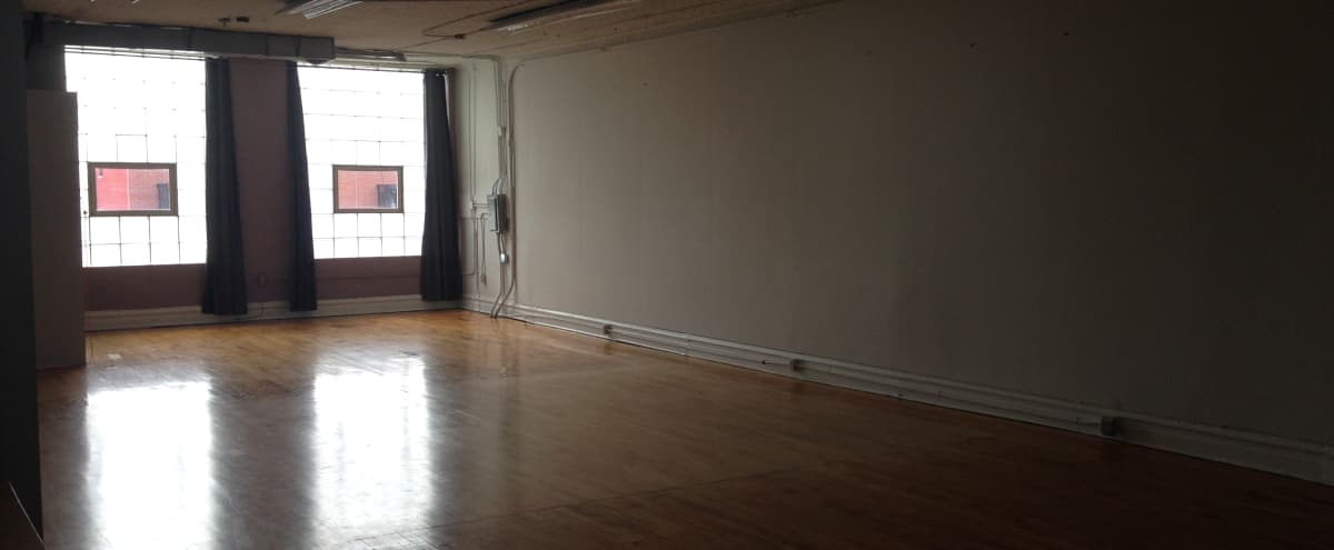 Centrally Located Studio Space in Wicker Park with Natural Light & Sprung Wood Floors | Back Studio in Chicago Hero Image in Wicker Park, Chicago, IL