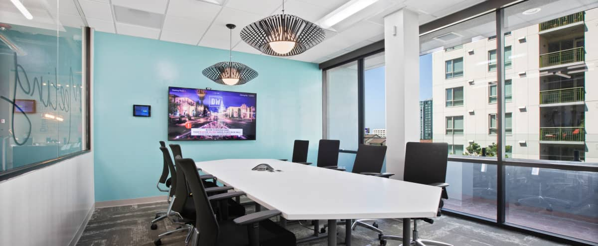 High-End Conference Room | M1 in San Diego Hero Image in Downtown San Diego, San Diego, CA