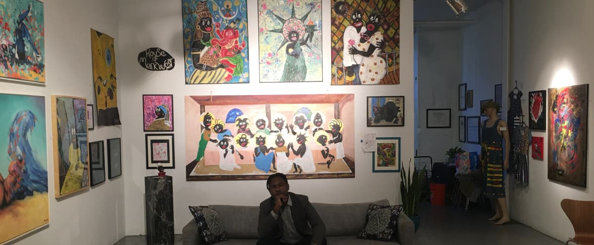Trendy Black-Owned Performing and Visual Art Center in Bushwick Art Hub in Brooklyn Hero Image in East Williamsburg, Brooklyn, NY
