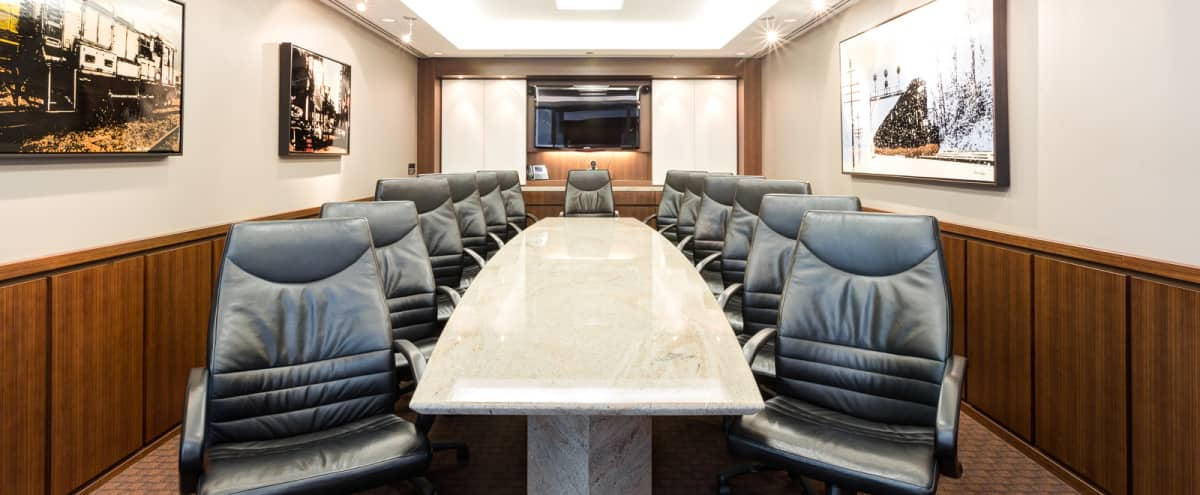 Premium Downtown Executive Boardroom in Chicago Hero Image in The Loop, Chicago, IL