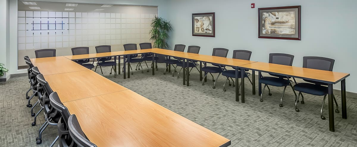 Spacious Fully-Equipped Conference Room in Charlotte Hero Image in undefined, Charlotte, NC