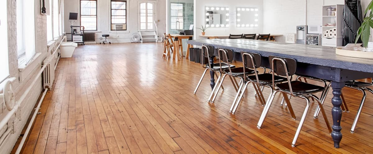 Open and Airy Production Studio in Soho in New York Hero Image in Little Italy, New York, NY