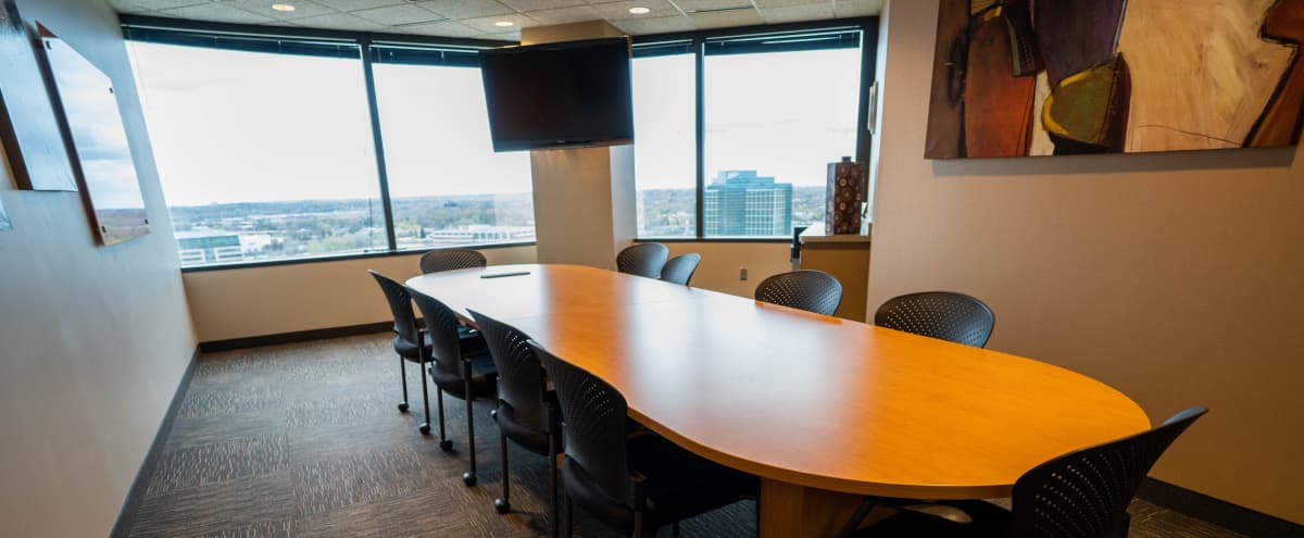 Beautiful 14 Person Conference Room w/ a View in Bloomington Hero Image in West Bloomington, Bloomington, MN