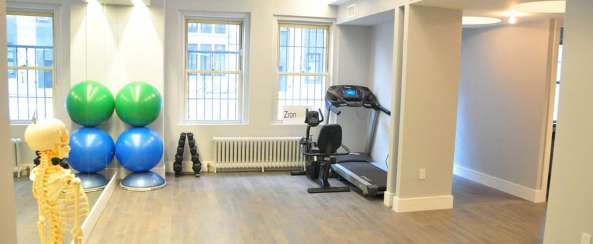 Spacious Private Gym/Event Space with 4 Private Rooms in New York Hero Image in Upper West Side, New York, NY