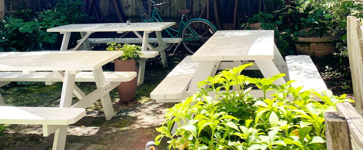 Gorgeous Private Garden in Ft. Greene! in Brooklyn Hero Image in Fort Greene, Brooklyn, NY