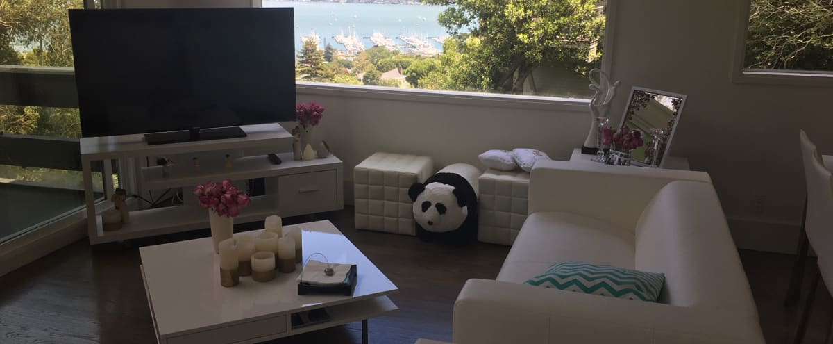 Modern Sausalito House with Balcony and Ocean View in Sausalito Hero Image in undefined, Sausalito, CA