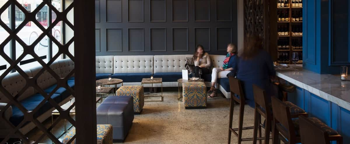 A Beautiful, Perfectly Designed Wine Bar for Daytime Meetings in West Union Square/Lower Nob Hill in San Francisco Hero Image in Lower Nob Hill, San Francisco, CA