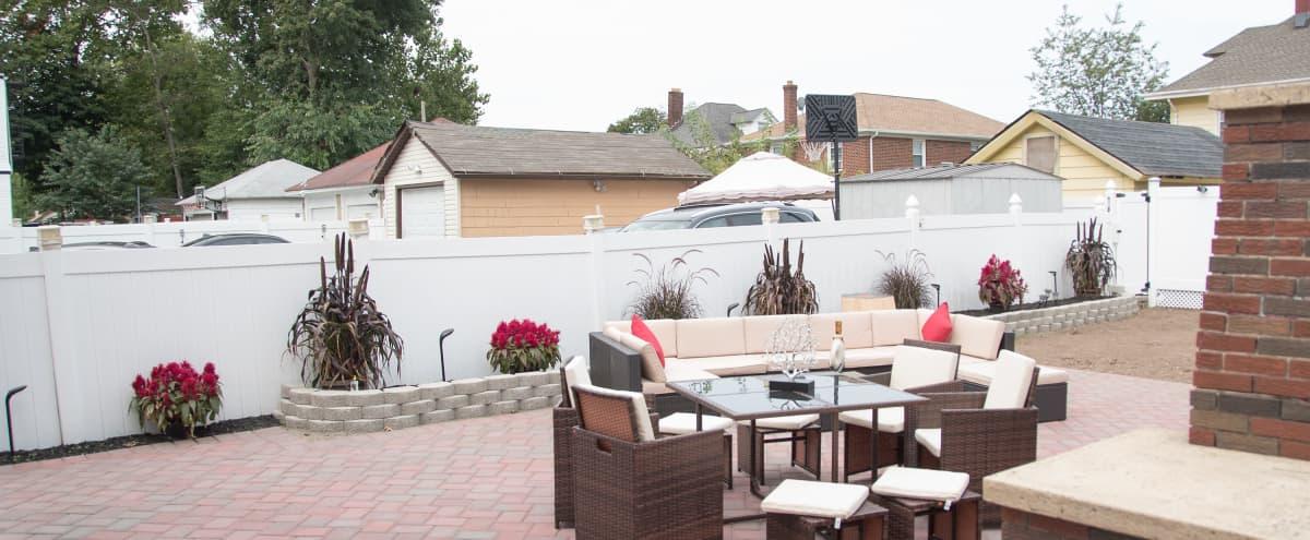 Relaxed Backyard Lounge in Irvington Hero Image in undefined, Irvington, NJ