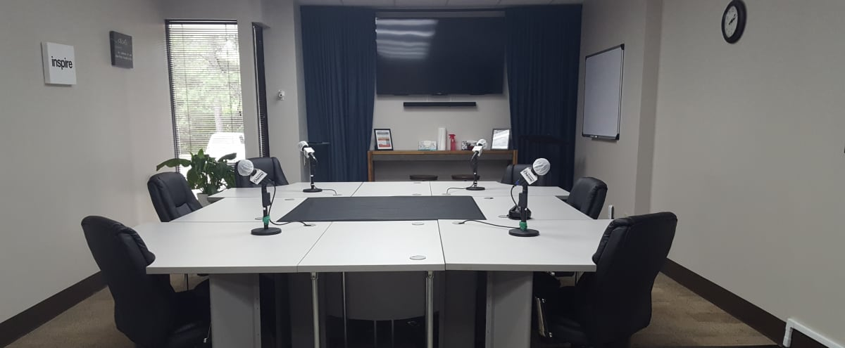 Podcast & Video Recording Studio! With All the Equipment and Engineer Provided to Record Your Podcast Like a Rock Star! in Atlanta Hero Image in Cumberland, Atlanta, GA