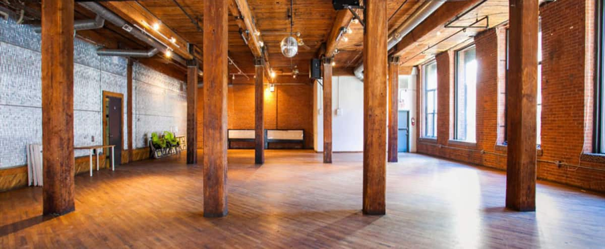 Incredible Loft beside Manhattan Bridge Archway in Brooklyn Hero Image in Dumbo, Brooklyn, NY
